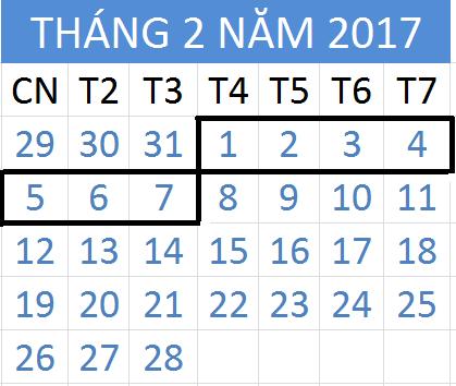 Tử vi hàng tuần từ ngày 01/02/2017 đến 07/02/2017
