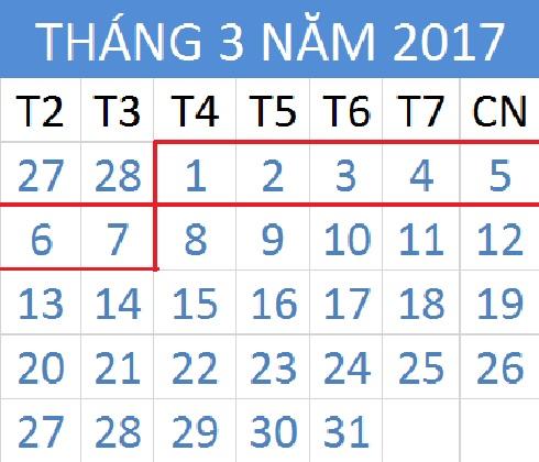 Tử vi hàng tuần từ ngày 01/03/2017 đến 07/03/2017