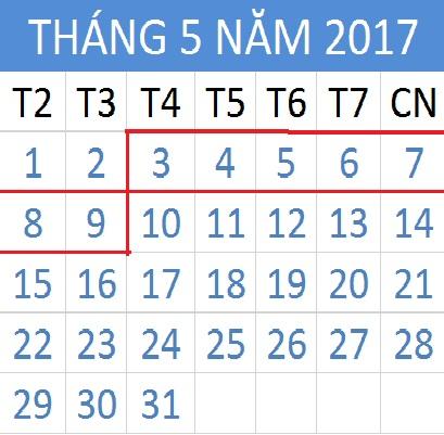 Tử vi hàng tuần từ ngày 02/05/2017 đến 08/05/2017