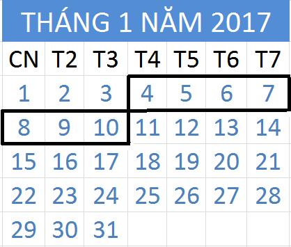 Tử vi hàng tuần từ ngày 04/01/2017 đến 10/01/2017