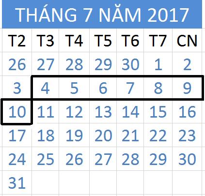 Tử vi hàng tuần từ ngày 04/07/2017 đến 10/07/2017
