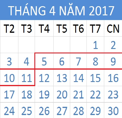 Tử vi hàng tuần từ ngày 05/04/2017 đến 11/04/2017
