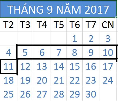 Tử vi hàng tuần từ ngày 05/09/2017 đến 11/09/2017