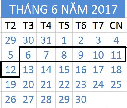 Tử vi hàng tuần từ ngày 06/06/2017 đến 12/06/2017