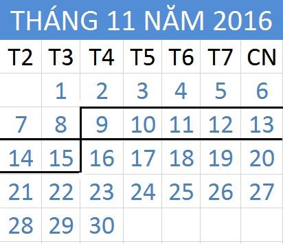 Tử vi hàng tuần từ ngày 09/11/2016 đến 15/11/2016