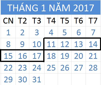 Tử vi hàng tuần từ ngày 11/01/2017 đến 17/01/2017