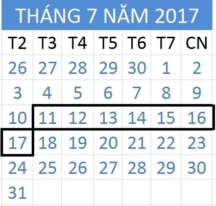 Tử vi hàng tuần từ ngày 11/07/2017 đến 17/07/2017