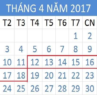 Tử vi hàng tuần từ ngày 12/04/2017 đến 18/04/2017