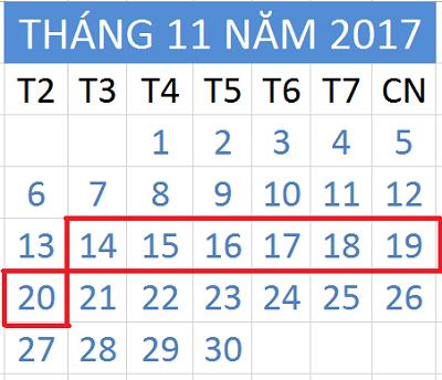 Tử vi hàng tuần từ ngày 14/11/2017 đến ngày 20/11/2017