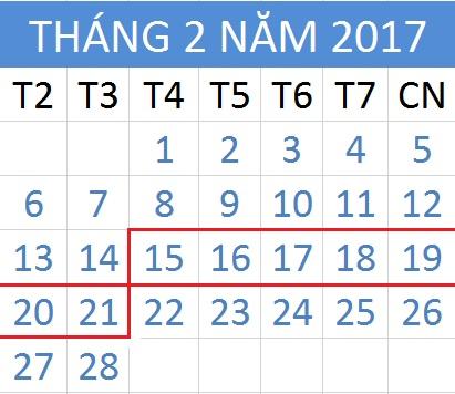 Tử vi hàng tuần từ ngày 15/02/2017 đến 21/02/2017