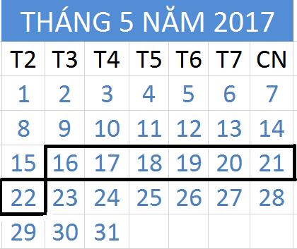 Tử vi hàng tuần từ ngày 16/05/2017 đến 22/05/2017