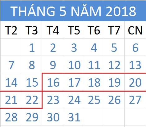 Tử vi hàng tuần từ ngày 16/05/2018 đến 22/05/2018