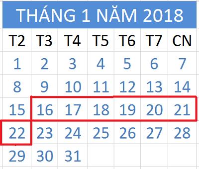 Tử vi hàng tuần từ ngày 16/1/2018 đến ngày 22/1/2018