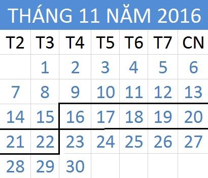 Tử vi hàng tuần từ ngày 16/11/2016 đến 22/11/2016