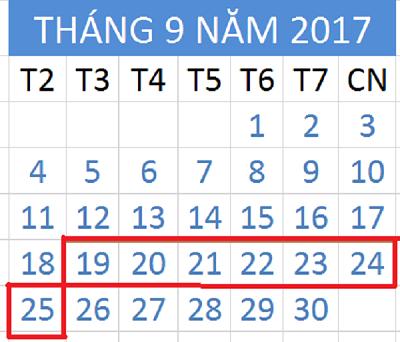 Tử vi hàng tuần từ ngày 19/09/2017 đến 25/09/2017