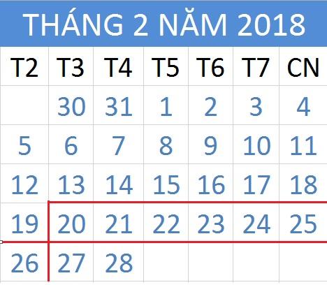 Tử vi hàng tuần từ ngày 20/02/2018 đến 26/02/2018