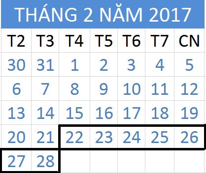 Tử vi hàng tuần từ ngày 22/02/2017 đến 28/02/2017