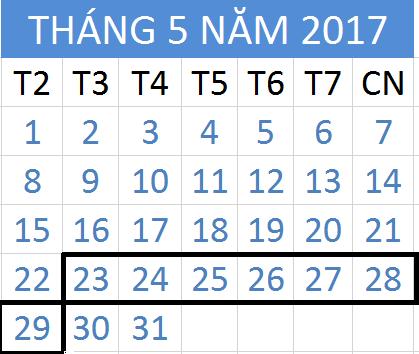 Tử vi hàng tuần từ ngày 23/05/2017 đến 29/05/2017