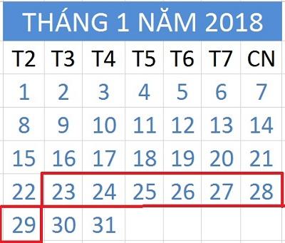 Tử vi hàng tuần từ ngày 23/1/2018 đến ngày 29/1/2018