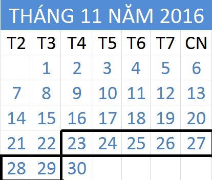 Tử vi hàng tuần từ ngày 23/11/2016 đến 29/11/2016