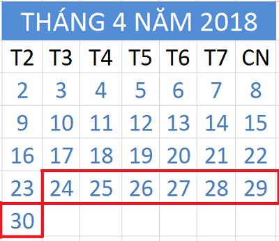 Tử vi hàng tuần từ ngày 24/4/2018 đến ngày 30/4/2018