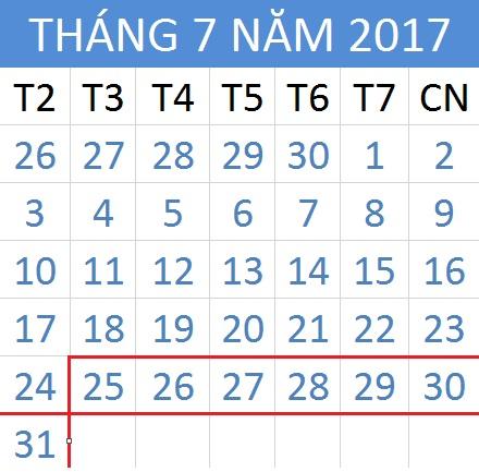Tử vi hàng tuần từ ngày 25/07/2017 đến 31/07/2017