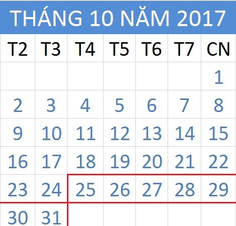 Tử vi hàng tuần từ ngày 25/10/2017 đến 31/10/2017