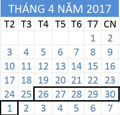 Tử vi hàng tuần từ ngày 26/04/2017 đến 01/05/2017