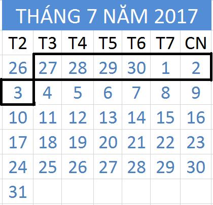 Tử vi hàng tuần từ ngày 27/06/2017 đến 03/07/2017