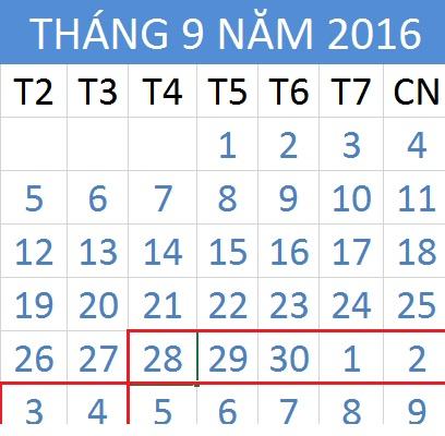 Tử vi hàng tuần từ ngày 28/09/2016 đến 04/10/2016