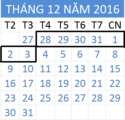 Tử vi hàng tuần từ ngày 28/12/2016 đến 03/01/2017
