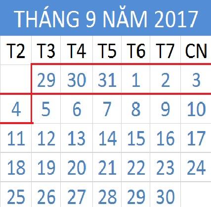 Tử vi hàng tuần từ ngày 29/08/2017 đến 04/09/2017