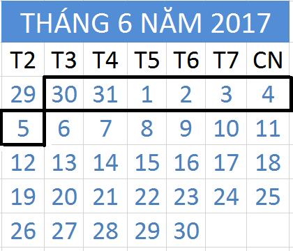 Tử vi hàng tuần từ ngày 30/05/2017 đến 05/06/2017