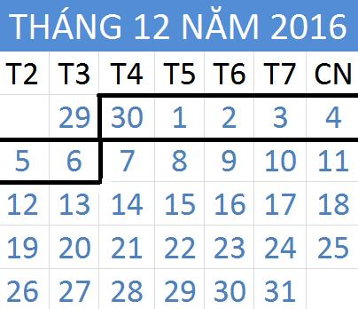 Tử vi hàng tuần từ ngày 30/11/2016 đến 06/12/2016