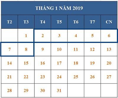 Tử vi hàng tuần từ ngày 02/01/2019 đến ngày 08/01/2019