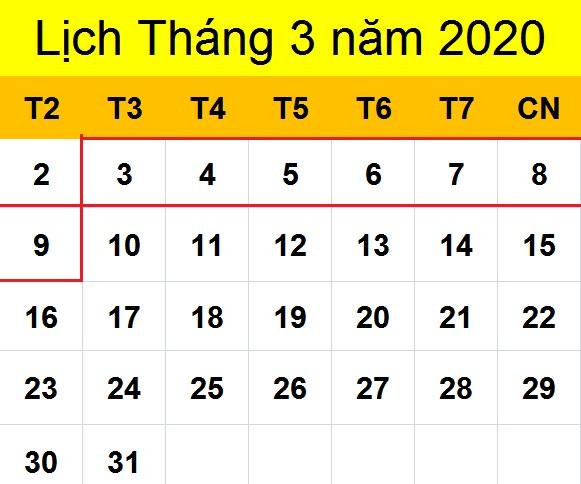 Tử vi hàng tuần từ ngày 03/03/2020 đến ngày 09/03/2020