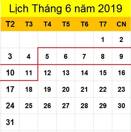 Tử vi hàng tuần từ ngày 05/06/2019 đến ngày 11/06/2019