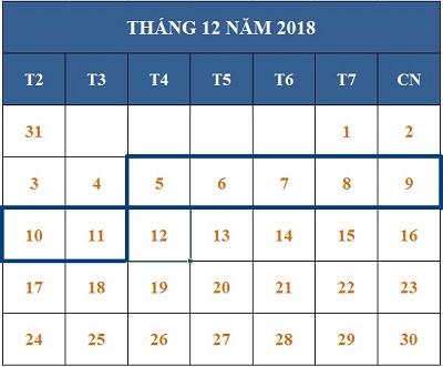 Tử vi hàng tuần từ ngày 05/12/2018 đến ngày 11/12/2018