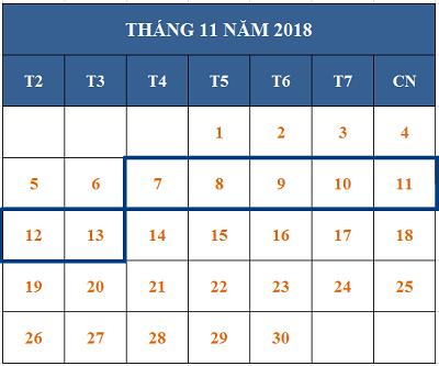 Tử vi hàng tuần từ ngày 07/11/2018 đến ngày 13/11/2018