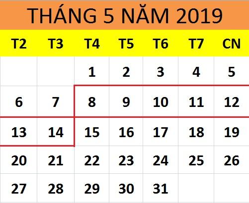 Tử vi hàng tuần từ ngày 08/05/2019 đến ngày 14/05/2019