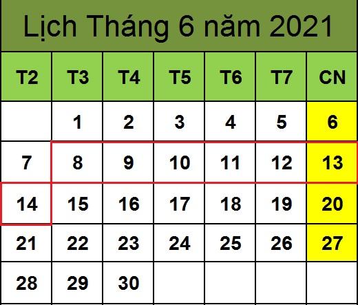 Tử vi hàng tuần từ ngày 08/06/2021 đến ngày 14/06/2021