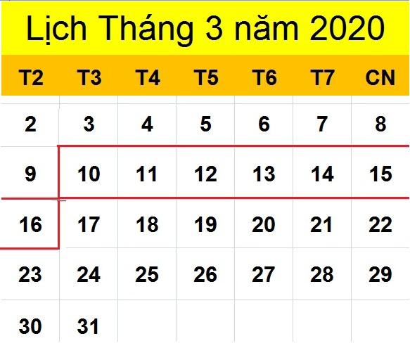 Tử vi hàng tuần từ ngày 10/03/2020 đến ngày 16/03/2020