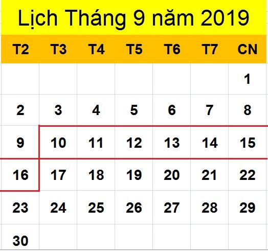 Tử vi hàng tuần từ ngày 10/09/2019 đến ngày 16/09/2019
