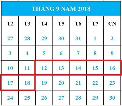 Tử vi hàng tuần từ ngày 12/09/2018 đến 18/09/2018