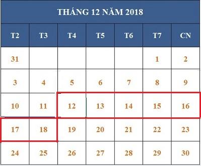 Tử vi hàng tuần từ ngày 12/12/2018 đến 18/12/2018