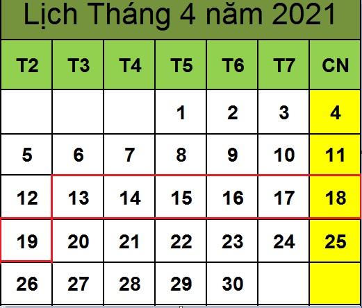 Tử vi hàng tuần từ ngày 13/04/2021 đến ngày 19/04/2021