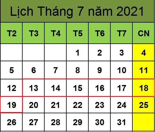 Tử vi hàng tuần từ ngày 13/07/2021 đến ngày 19/07/2021