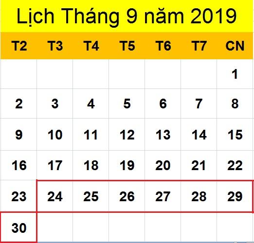 Tử vi hàng tuần từ ngày 24/09/2019 đến ngày 30/09/2019