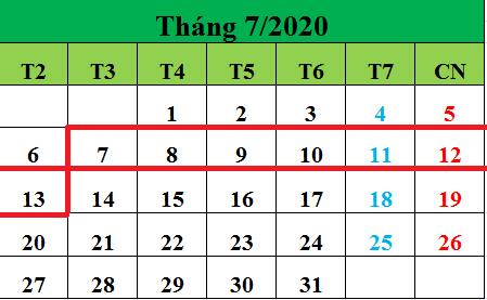 Tử vi hàng tuần từ ngày 07/07/2020 đến ngày 13/07/2020