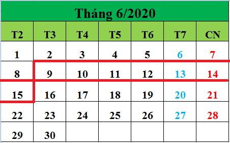 Tử vi hàng tuần từ ngày 09/06/2020 đến ngày 15/06/2020